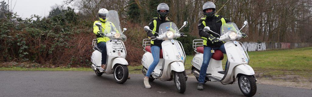 scooter rijbewijs vespa rijles
