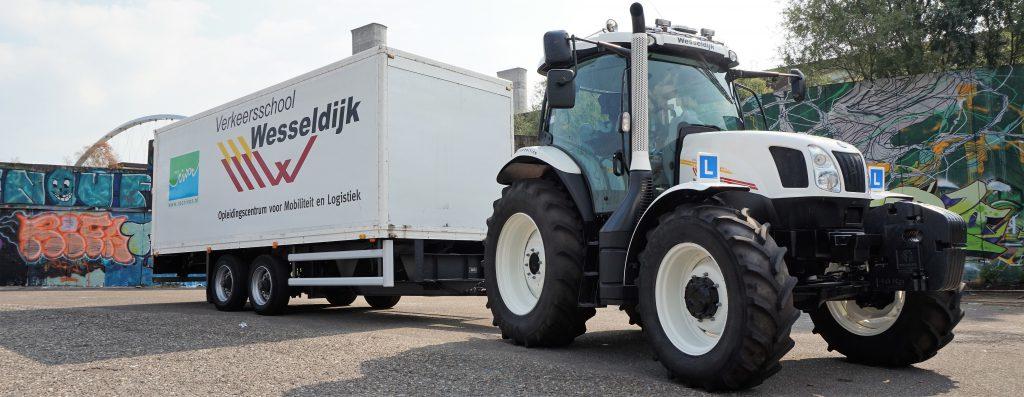 trekker rijbewijs T tractor rijles
